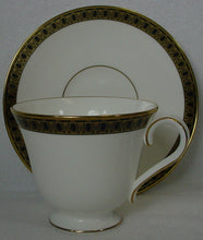 WATERFORD china ASHWORTH pattern CUP & SAUCER Set cup 3""