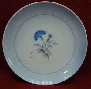BING & GRONDAHL china CORNFLOWER BLUE pattern Set of 3 Bread 28A Plates - 6-1/4""