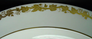 WEDGWOOD china WHITEHALL white W4001 pattern OVAL MEAT Serving PLATTER 13-3/4""
