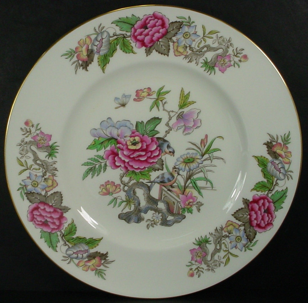 WEDGWOOD china CATHAY W4053 pattern DINNER PLATE 10-7/8