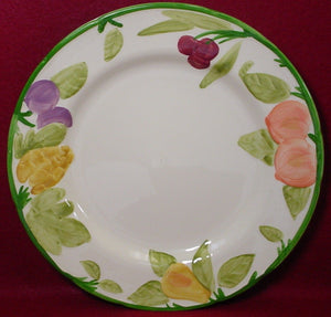 FRANCISCAN china FRUIT FRUIT England pattern DINNER PLATE 10-3/4""
