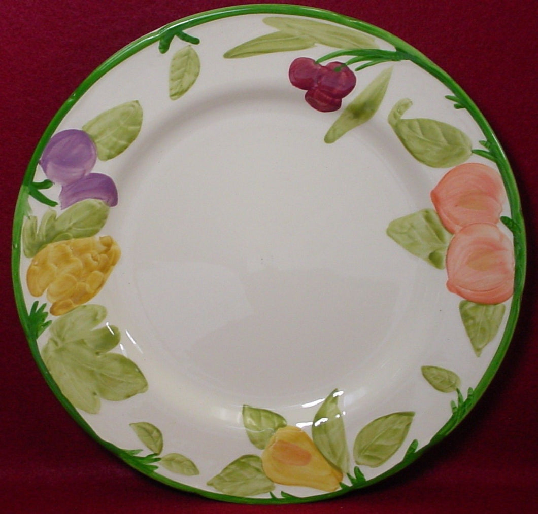 FRANCISCAN china FRUIT FRUIT England pattern DINNER PLATE 10-3/4