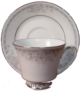 NORITAKE china SILK GARLAND pattern 3792 20-piece SET SERVICE for Four (4)