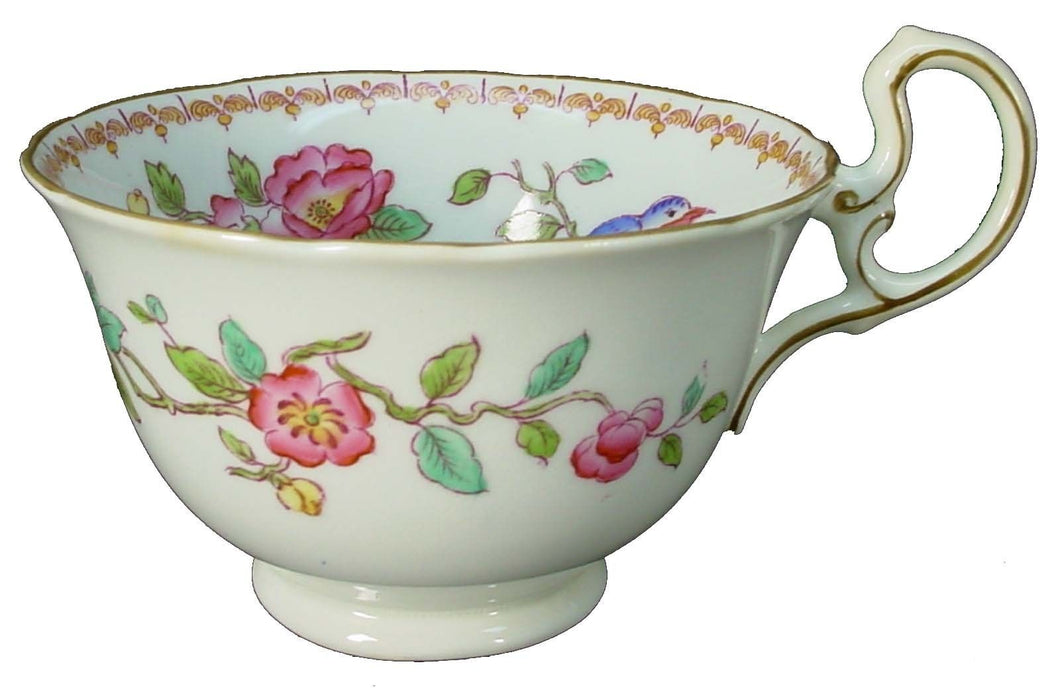 AYNSLEY china 5683 SCALLOPED pattern OVERSIZED CUP 2-1/2