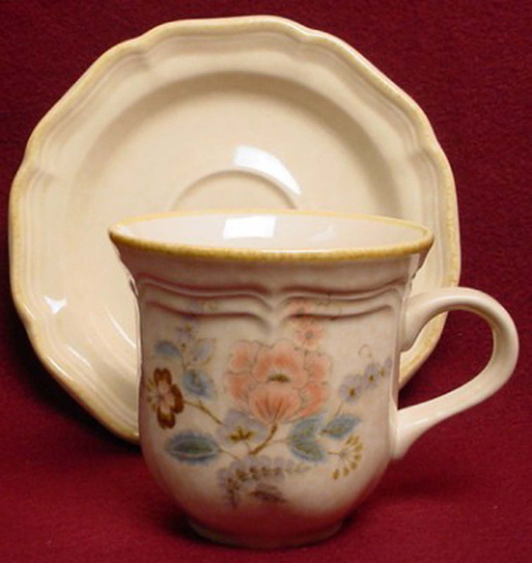 MIKASA china TENNESSEE FG002 pattern Cup & Saucer