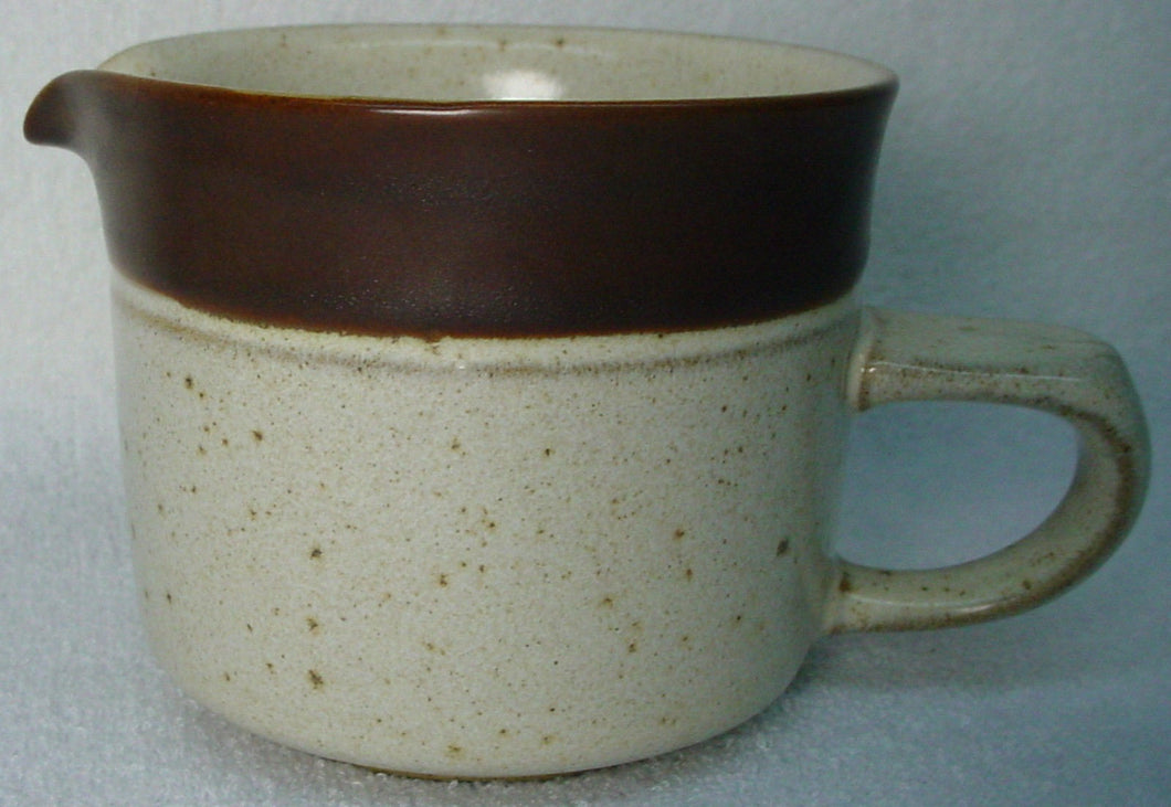DENBY china PARCHMENT pattern CREAMER cream pitcher JUG