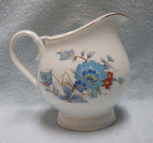 NORITAKE china BLEUFLEUR pattern Creamer, Cream Pitcher or Jug - 3-7/8""