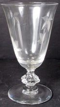 "BRYCE crystal AUTUMN 1A pattern JUICE GLASS or GOBLET 5-1/4"" - Set of 2"