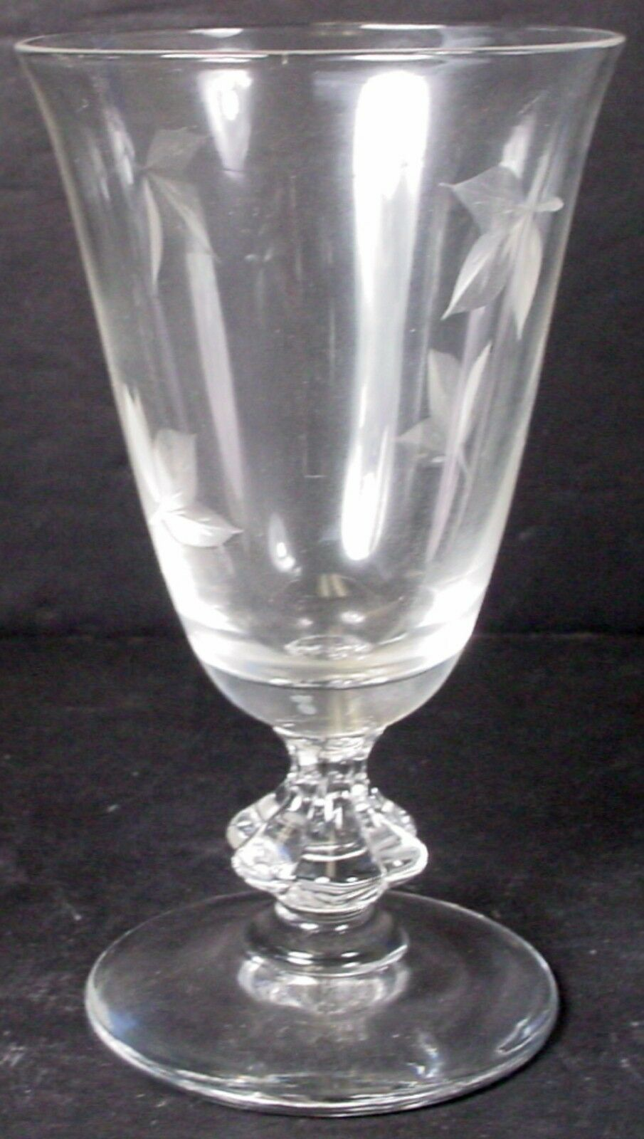 BRYCE crystal AUTUMN 1A pattern JUICE GLASS or GOBLET 5-1/4