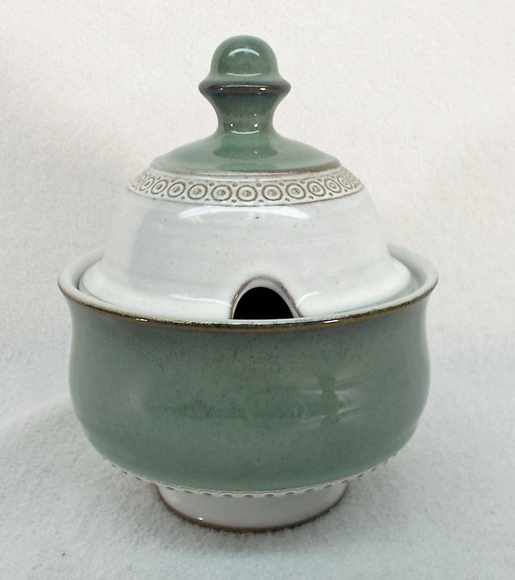 DENBY china VENICE pattern SUGAR Bowl with LID