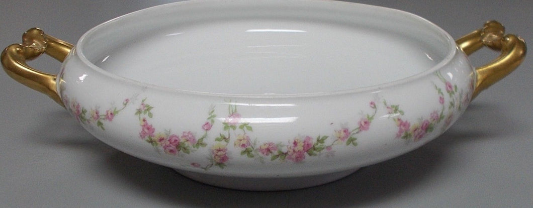 BERNARDAUD Delinieres china BER394 pattern Round Covered Bowl Base ONLY - NO LID