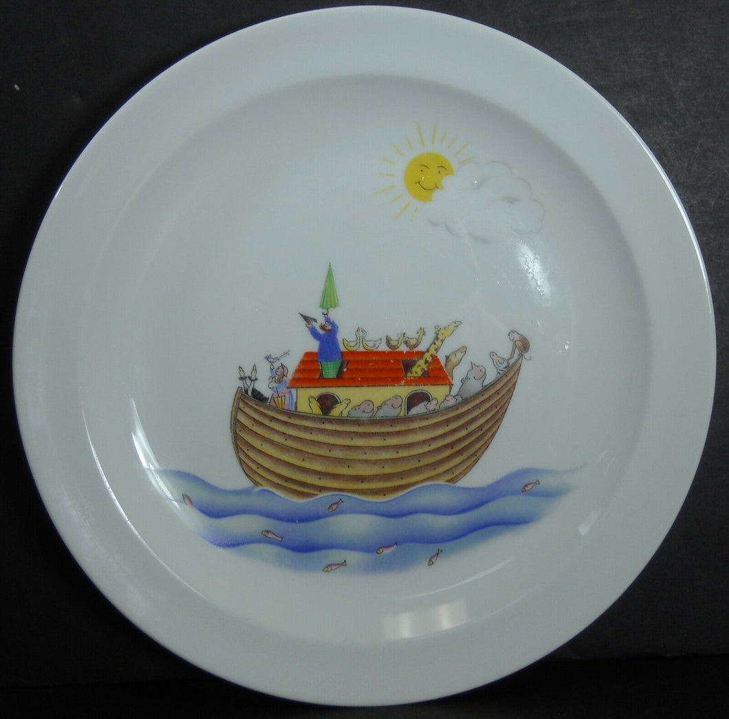 ROYAL WORCESTER china NOAH'S ARK pattern Child's Dinner Plate @ 8