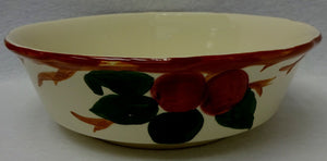 FRANCISCAN china APPLE England pattern Large Round Vegetable Serving Bowl 8-5/8""