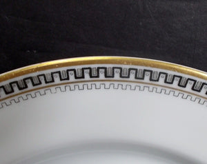 HEINRICH/H & C china HC17 Greek Key/Manchester Oval Serving Platter @ 14-1/4""