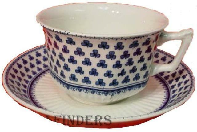 ADAMS china BRENTWOOD Cup & Saucer Set New Backstamp