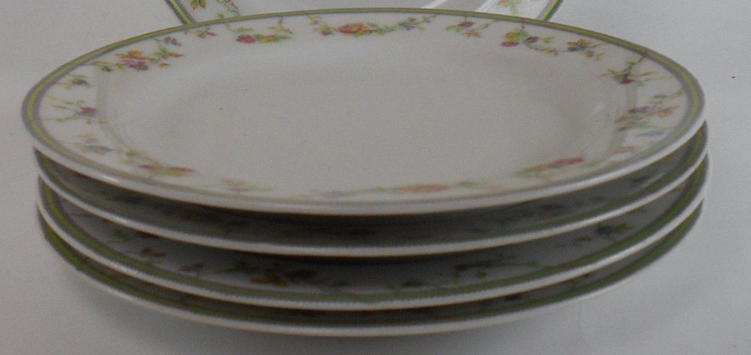 HAVILAND china GENEVIEVE pattern Bread Plate - Set of Four (4) - 6-1/4