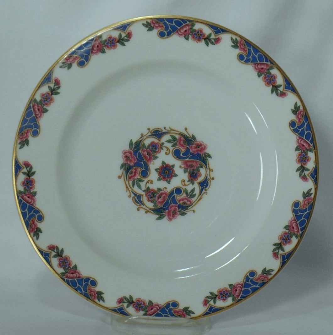HAVILAND china EXOTIC France LUNCHEON PLATE - 8-5/8