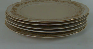 FRANCONIA-KRAUTHEIM china FR23 pattern Set of Five (5) Bread Plates @ 6""