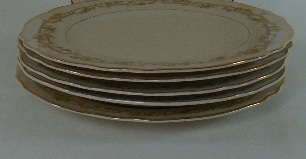FRANCONIA-KRAUTHEIM china FR23 pattern Set of Five (5) Bread Plates @ 6