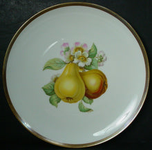 "HUTSCHENREUTHER china FRUIT (Favorit Shape) pattern SALAD PLATE 8"" Pears"