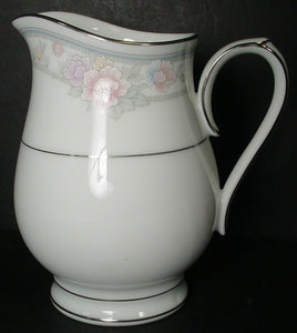 NORITAKE china NEWBURY 3601 pattern CREAMER cream pitcher JUG