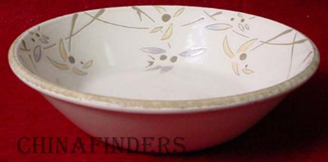 MIDWINTER china WILD ORCHID pattern Cereal Bowl @ 6-1/2