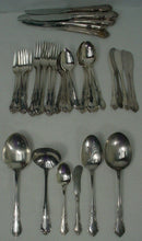 ONEIDA silver FREDERICKSBURG silverplate 41-piece SET SERVICE for Six + Serving