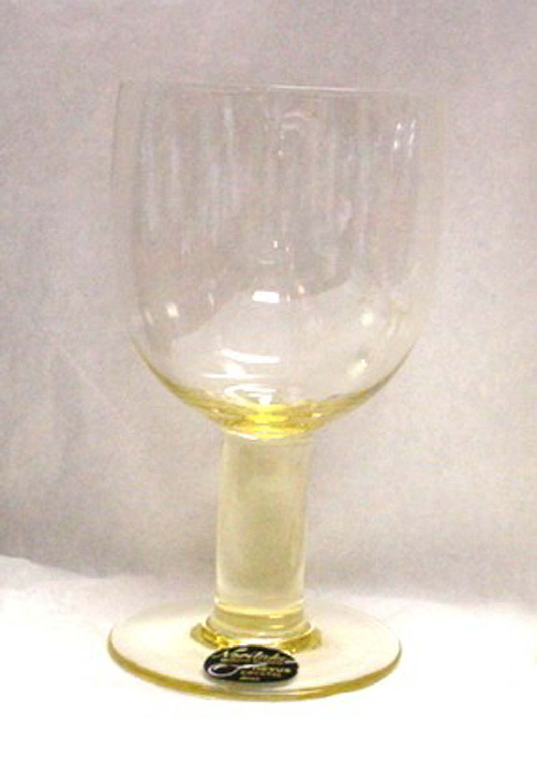 NORITAKE crystal NOVUS - CITRON pattern WINE Glass