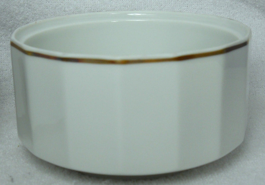ROSENTHAL china SECUNDA GOLD pattern Sugar Bowl BASE - NO Lid