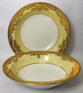 NORITAKE china GRAFTON pattern Set of Two (2) Fruit Dessert Berry Bowls - 5-1/2""