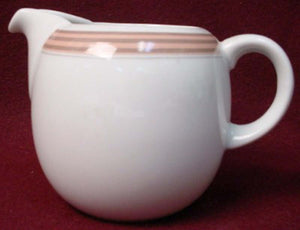 MIKASA china PIPELINE CORAL NG009 pattern Creamer Pitcher/Jug