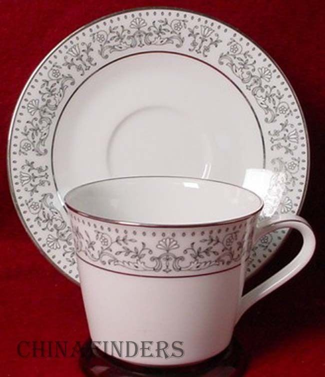 NORITAKE china EMINENCE 6905 pttrn CUP & SAUCER Set