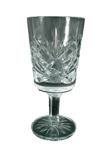 CAVAN crystal SHEELIN pattern CORDIAL GLASS or GOBLET - 4""