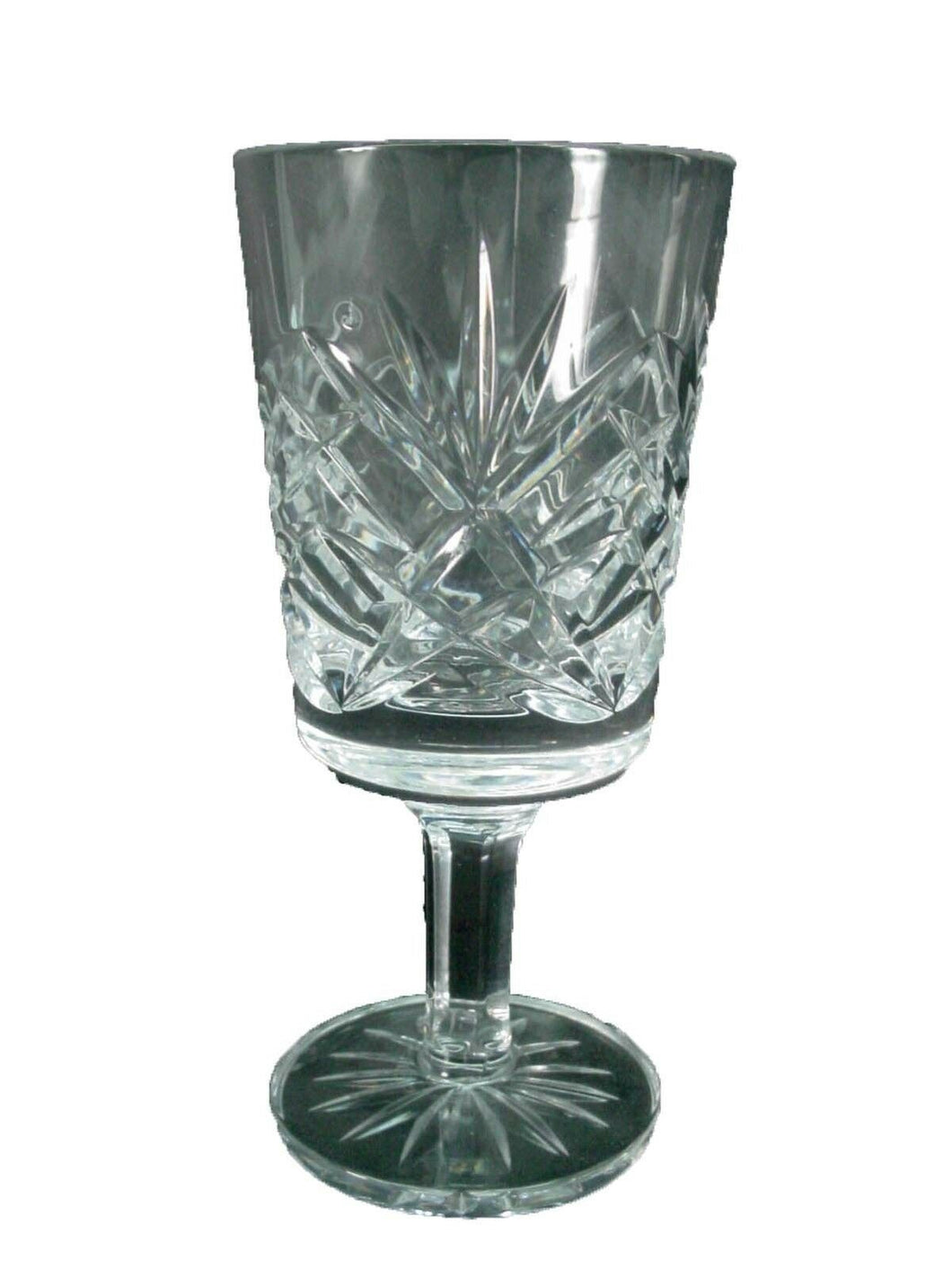 CAVAN crystal SHEELIN pattern CORDIAL GLASS or GOBLET - 4