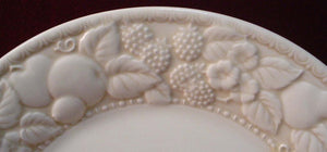 METLOX china VERNON ANTIGUA pattern Round Vegetable Serving Bowl @ 10 5/8""""