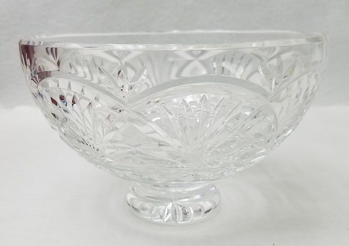 WATERFORD crystal GIFTWARE Large footed pedestal bowl 8