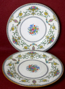 "MINTON china TALBOT pattern B1113 Bread & Butter Plate 6-1/4"" Set of Two (2)"