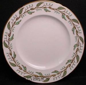 SHELLEY china LAUREL pattern Dinner Plate @ 10 3/4""