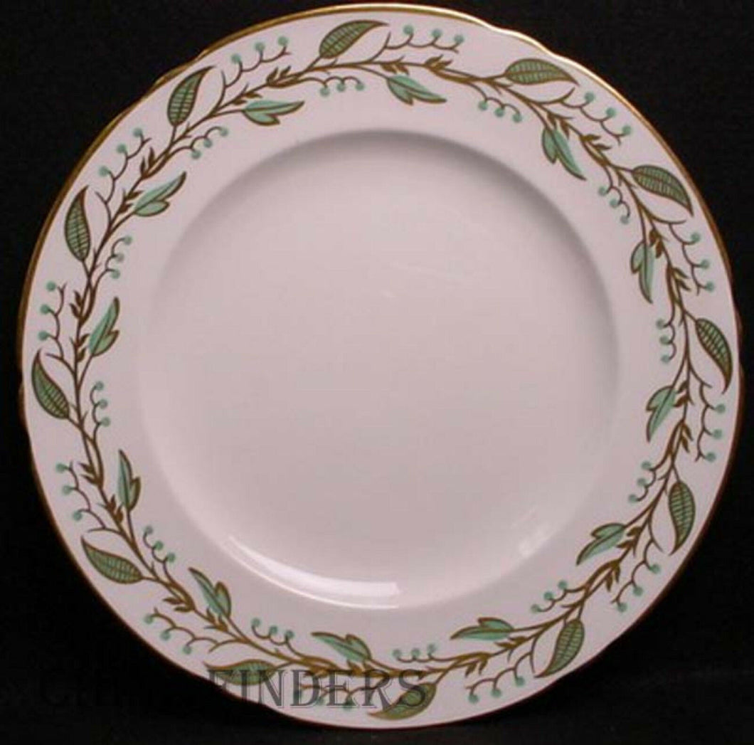 SHELLEY china LAUREL pattern Dinner Plate @ 10 3/4