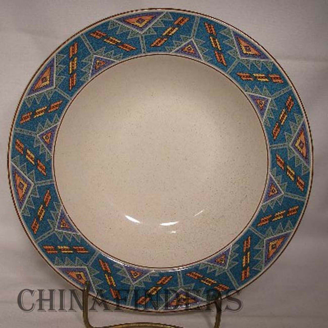 CHRISTOPHER STUART china RIO GRANDE Y2231/SH702 pattern Soup/Salad Bowl @ 8-1/4