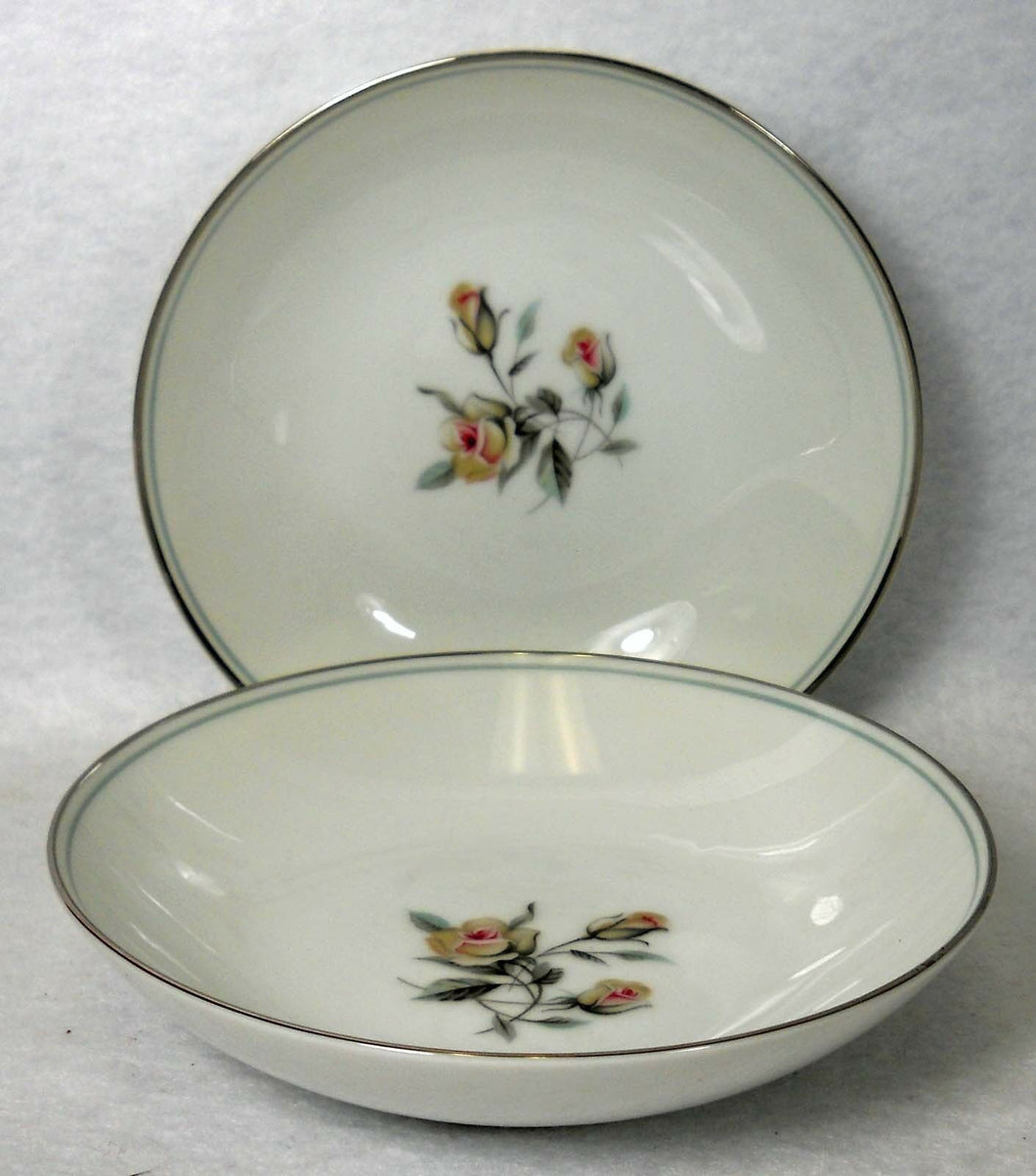 NORITAKE china MARGOT #5605 Fruit Dessert or Berry Bowl - Set of Two (2) 5-5/8