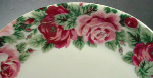 BLOCK china ROSE GARDEN pattern CUP & SAUCER Set Cup 3-1/8""