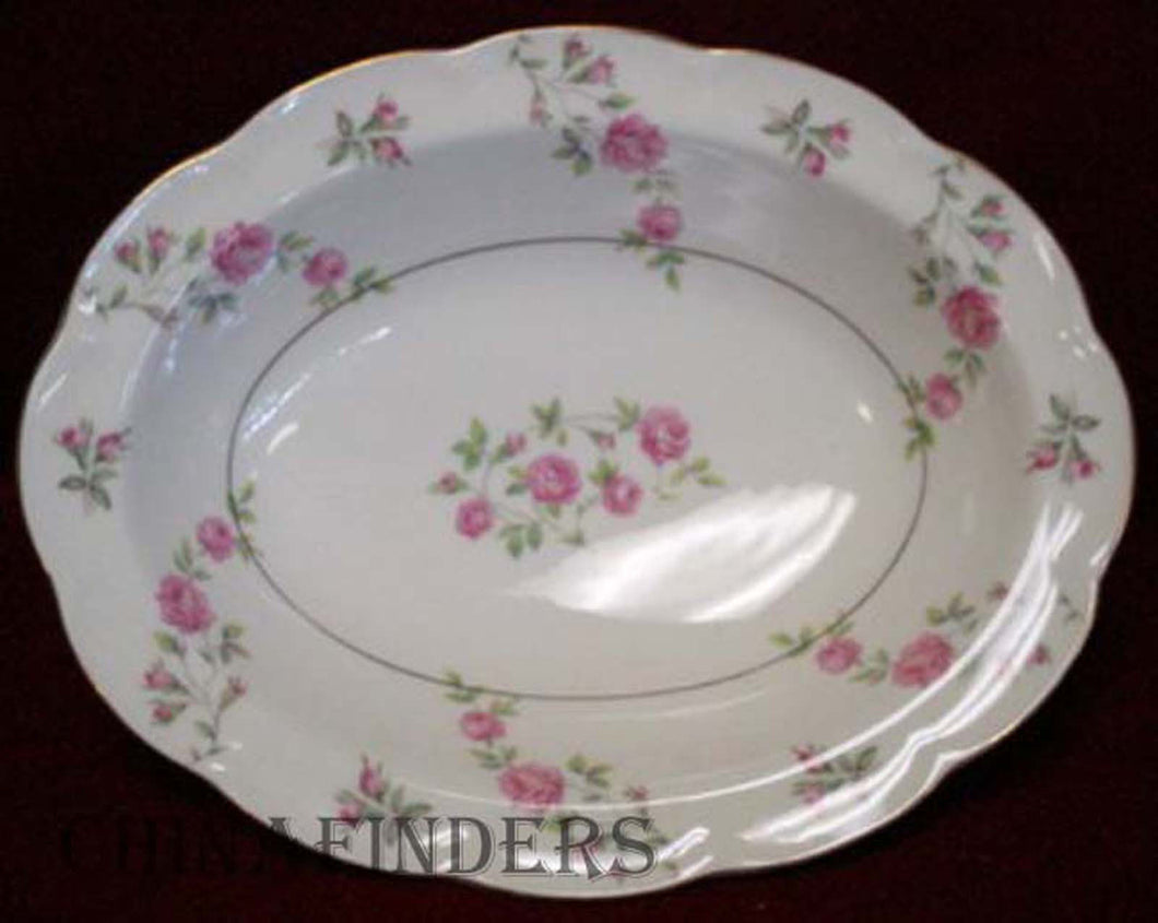 HAVILAND New York china DELAWARE Oval Vegetable Bowl - 9-5/8