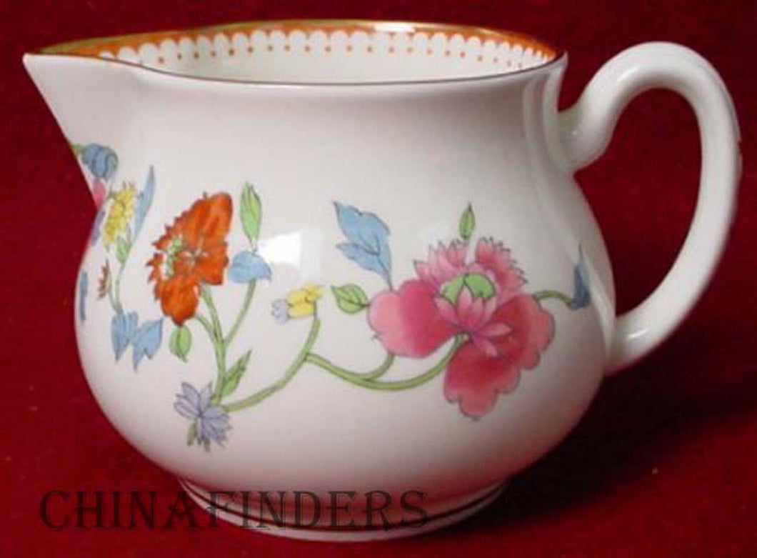 ROYAL WORCESTER china ASTLEY Z1822 pattern CREAMER
