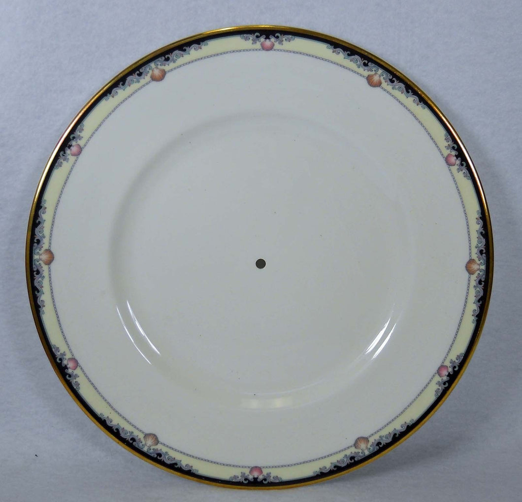 ROYAL DOULTON England RHODES pattern H5099 Round Serving Plate no Handle 10-5/8