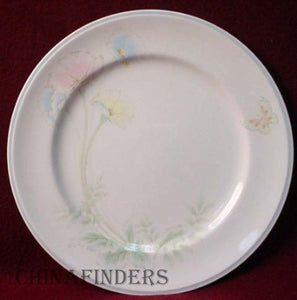 NORITAKE china SUMMER BLOSSOM 9306/W41 pattern DINNER PLATE