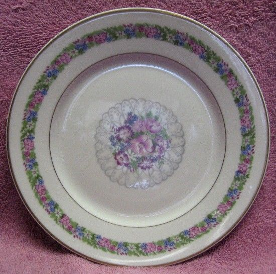 HAVILAND china JUNE BRIDE pattern LUNCHEON Plate