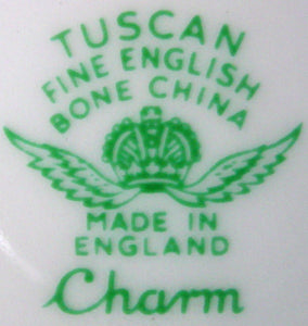 "ROYAL TUSCAN china CHARM pattern DINNER PLATE 10-1/4"" also Tuscan"