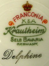 FRANCONIA Krautheim china DELPHINE pattern DINNER PLATE 10-3/4""