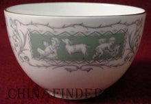 COALPORT china REVELRY-GREEN pattern Open Sugar Bowl